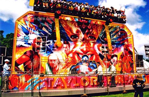 Funfair Rides For Hire Taylor S Fun Fairs